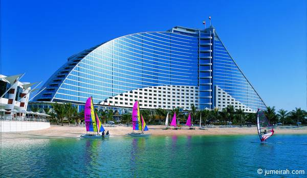 Das ***** Beachhotel in Dubai