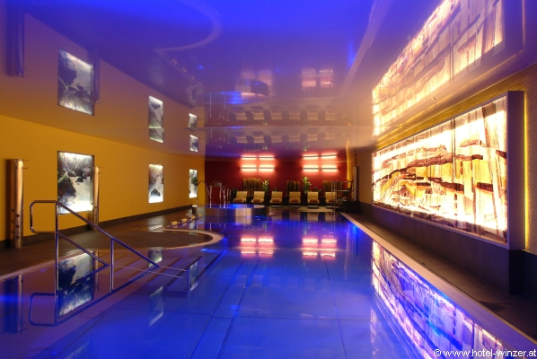 Der Pool im Emotion Spa