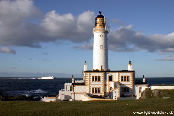 corsewall lighthouse hotel in schottland das schottische leuchtturmhotel themenhotels. Black Bedroom Furniture Sets. Home Design Ideas